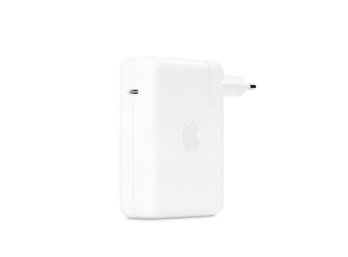 Apple : même le bloc 140 W des MacBook Pro bénéficie d'une nouvelle technologie