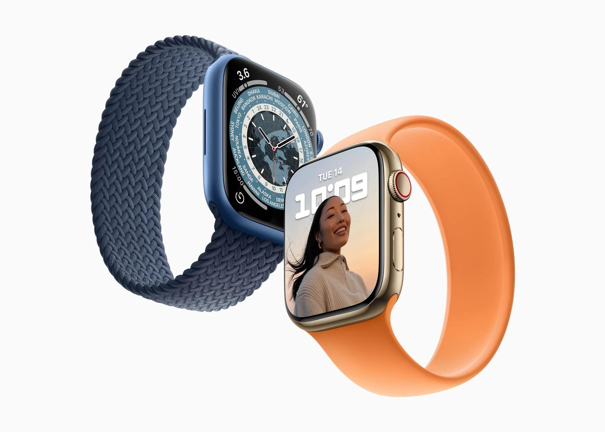 L'Apple Watch Series 7 sera disponible le 15 octobre