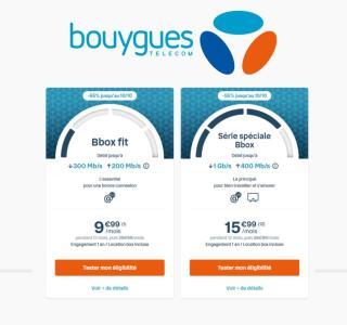 Box Internet : la fibre est à moitié prix pendant un an chez Bouygues Telecom