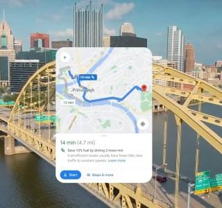 En Europe aussi, Google Maps vous fera consommer moins d'essence avec des trajets plus écolos