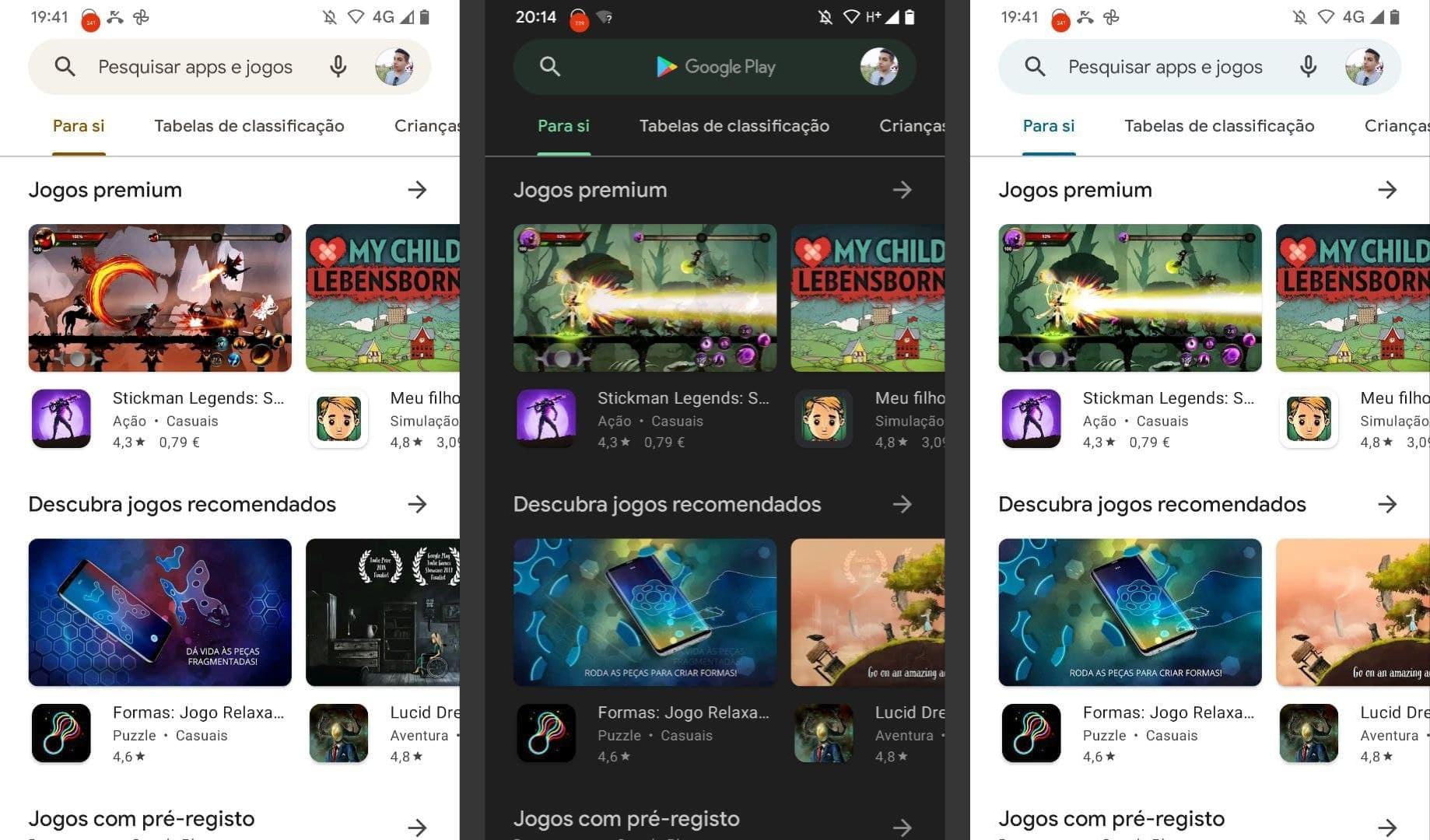 Android 12 : le Google Play Store passe aux couleurs de Material You