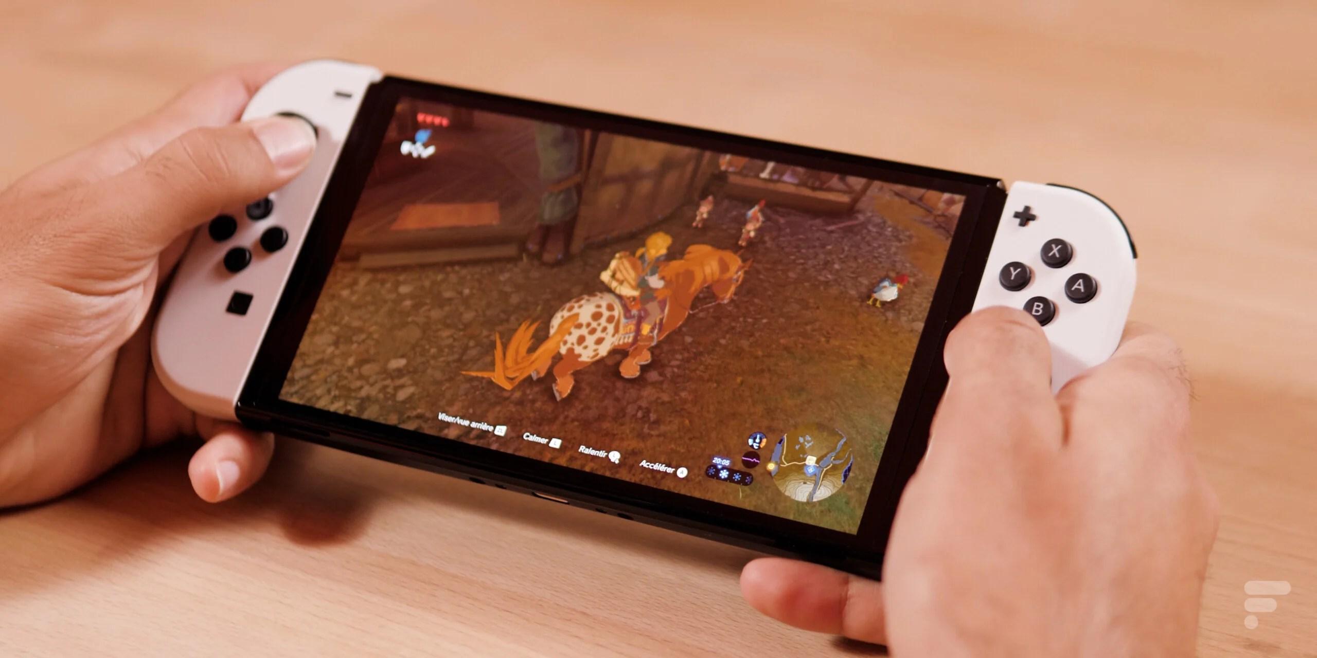 Test de la Nintendo Switch OLED : séduire sans mettre le paquet