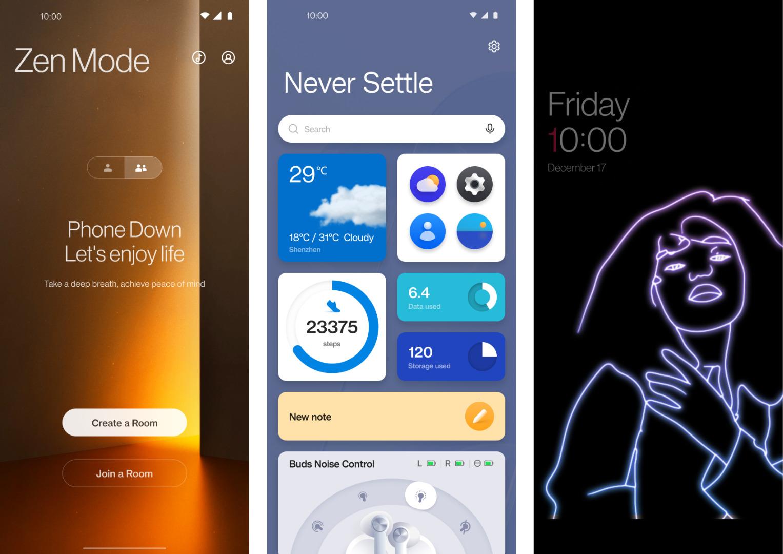 OxygenOS 12 est là en bêta : voici les nouveautés de la mise à jour vers Android 12