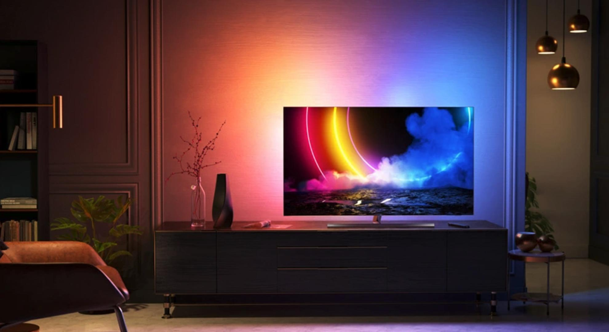TV 4K : la Philips OLED 55″ Ambilight (HDMI 2.1) est 300 € moins chère