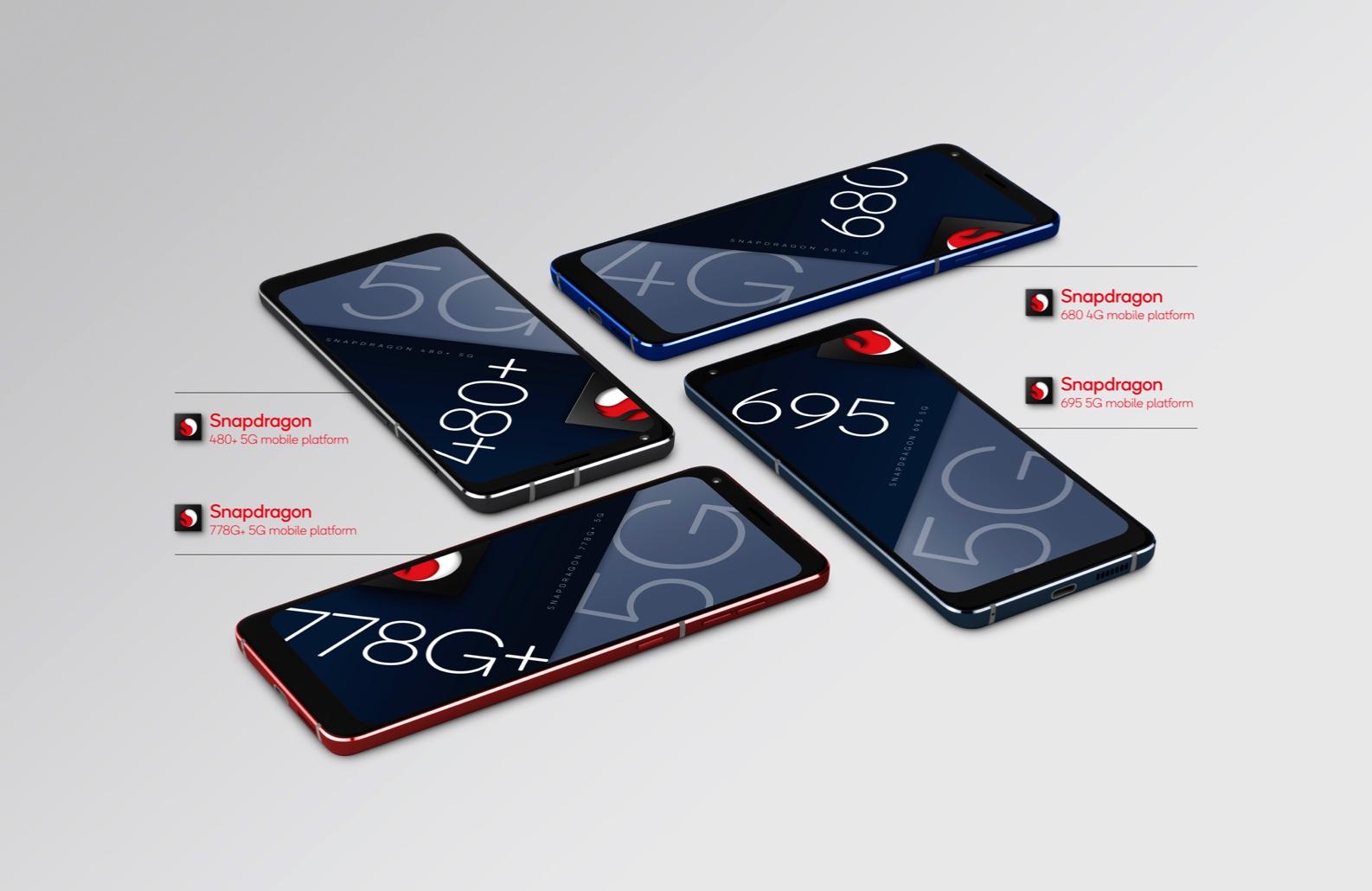 Qualcomm annonce 4 nouvelles puces Snapdragon pour smartphones abordables