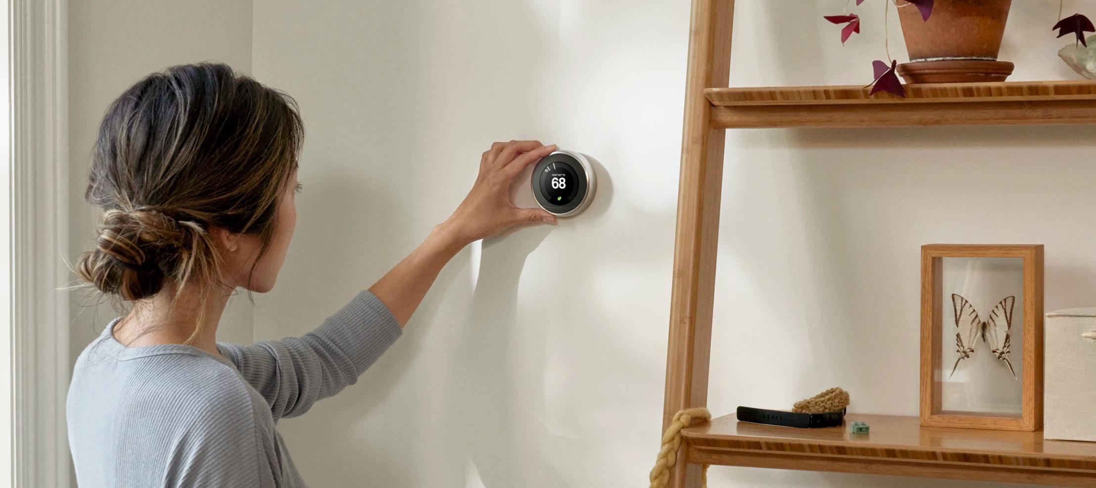 Les thermostats Google Nest veulent consommer moins cher et plus propre
