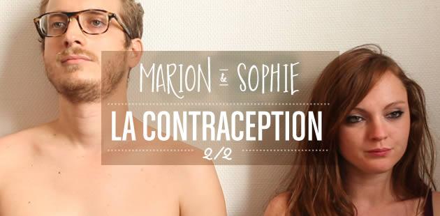 contraception marion et sophie 2