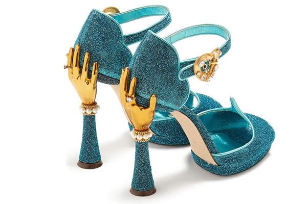 chaussures dolce & gabbana paillettes