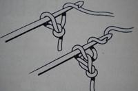 Tuto crochet : un noeud pour cheveux