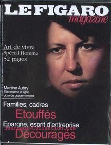 La Une de Libération avec Martine Aubry fait parler