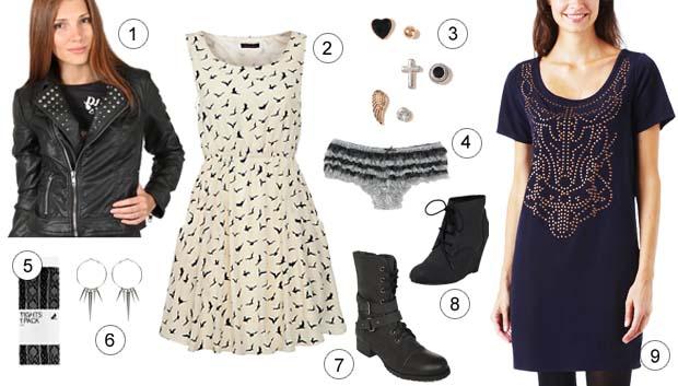 Le style inspiration gothique – Tendances mode automne-hiver 2012-13