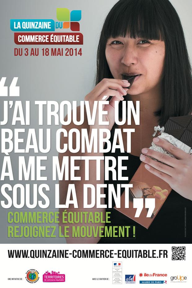 Participez à La Quinzaine du Commerce Équitable, du 3 au 18 mai 2014 !