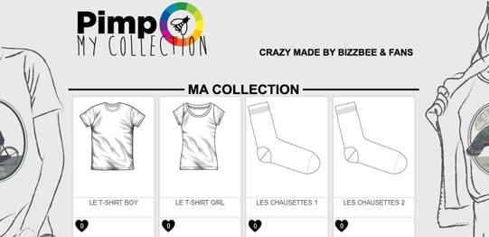Pimp my collection by Bizzbee : deviens styliste d'un jour !