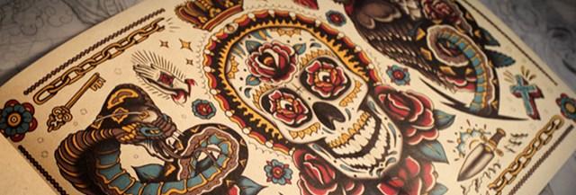 coloriage-tatouage