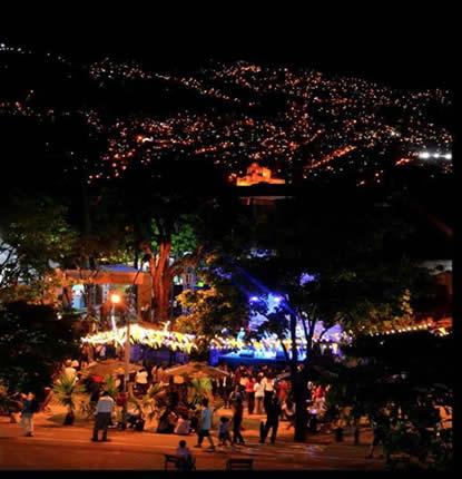 colombie-medellin-nuit