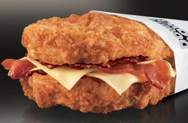 kfc-double-down-poulet-frit