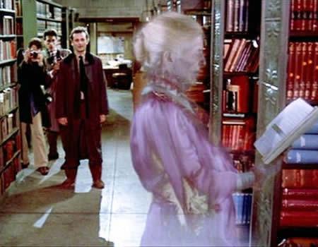 ghostbusters fantome bibliothèque