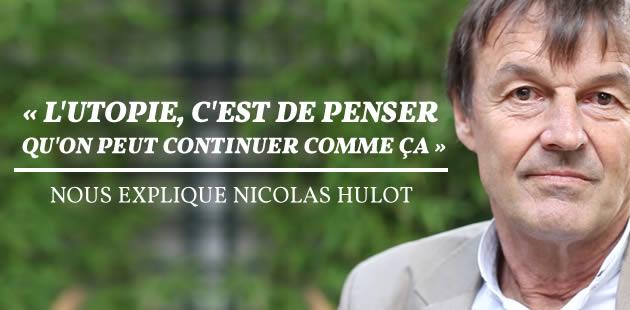 Nicolas Hulot veut «un groupe de réflexion sur le bien-être animal»