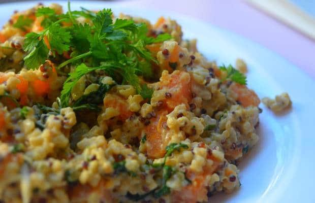 quinoa patate douce