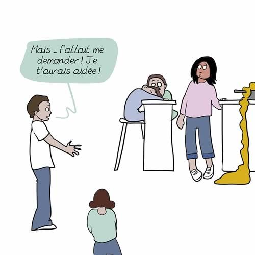 La charge mentale concernant les tâches ménagères