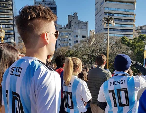 Buenos Aires, le 16 juin 2018. © Esther Meunier