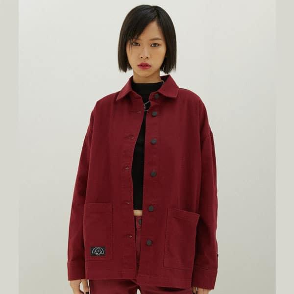 veste rouge jane lane