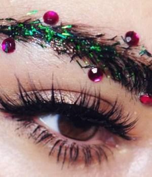 maquillage-sourcils-noel