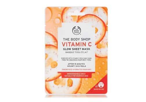 masque en tissu the body shop