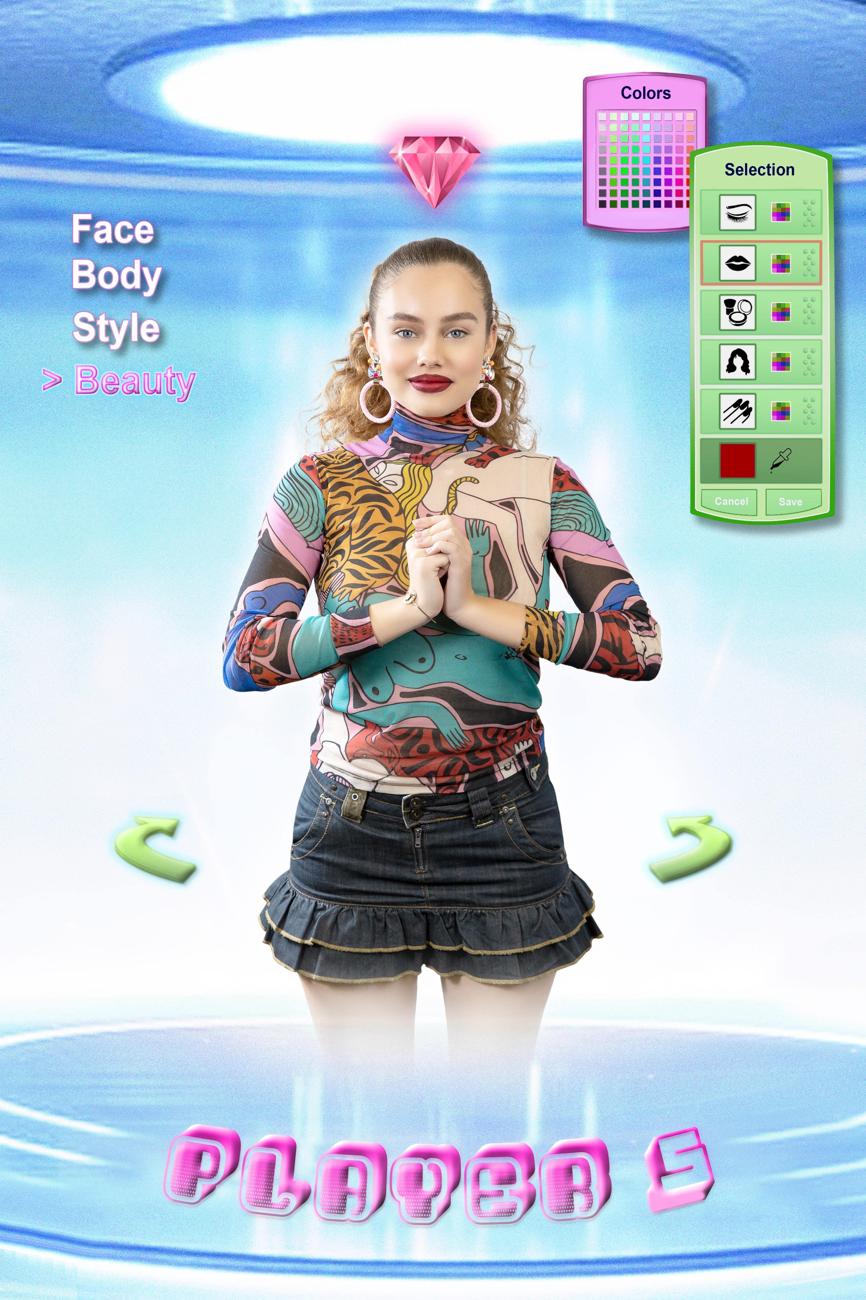 madmoiZelle crée ses propres personnages féminins à l'occasion des journées du jeu vidéo