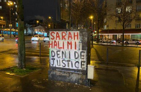 Collage_Sarah_Halimi,_place_de_la_Porte-d'Auteuil,_Paris_16_e