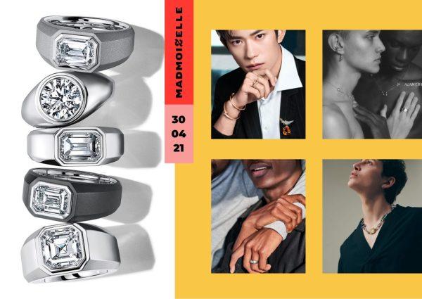 Tiffany & Co. lance des bagues de fiançailles pour homme : un signe d'égalité entre les genres ?