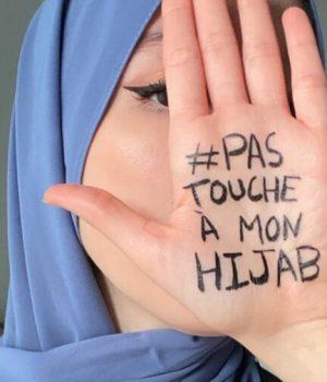 pas touche a mon hijab