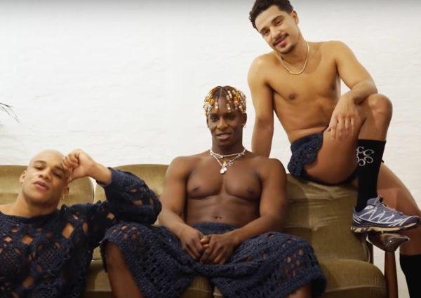 Trois hommes posent pour la marque C.R.E.O.L.E qui nous rappelle que la mode est politique, de « Taubira présidente ! » au scandale du chlordécone
