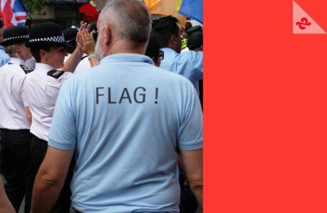 flag marche des fiertes paris 2018