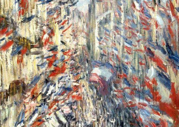 La Rue Montorgueil, Monet