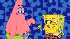 Patrick-et-Bob-léponge-cassent-le-poignet