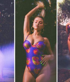 Selena Gomez est non-retouchée sur les photos de ses maillots de bain en collab avec La'Mariette, et c'est assez rare pour être signalé