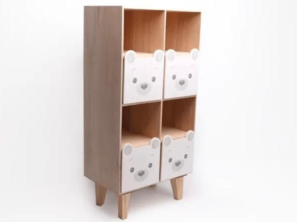 Étagère pour enfant motif ourson – 168€04 361,38 €