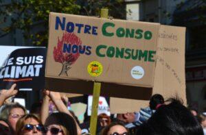jeanne menjoulet marche pour le climat du 21 septembre 2019 à Paris