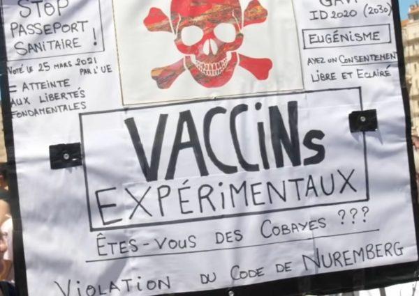 manifestation anti pass sanitaire marseille la provence