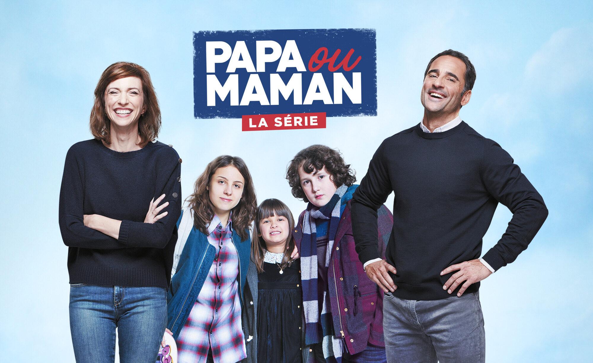 Affiche de la série Papa ou Maman diffusée sur Salto