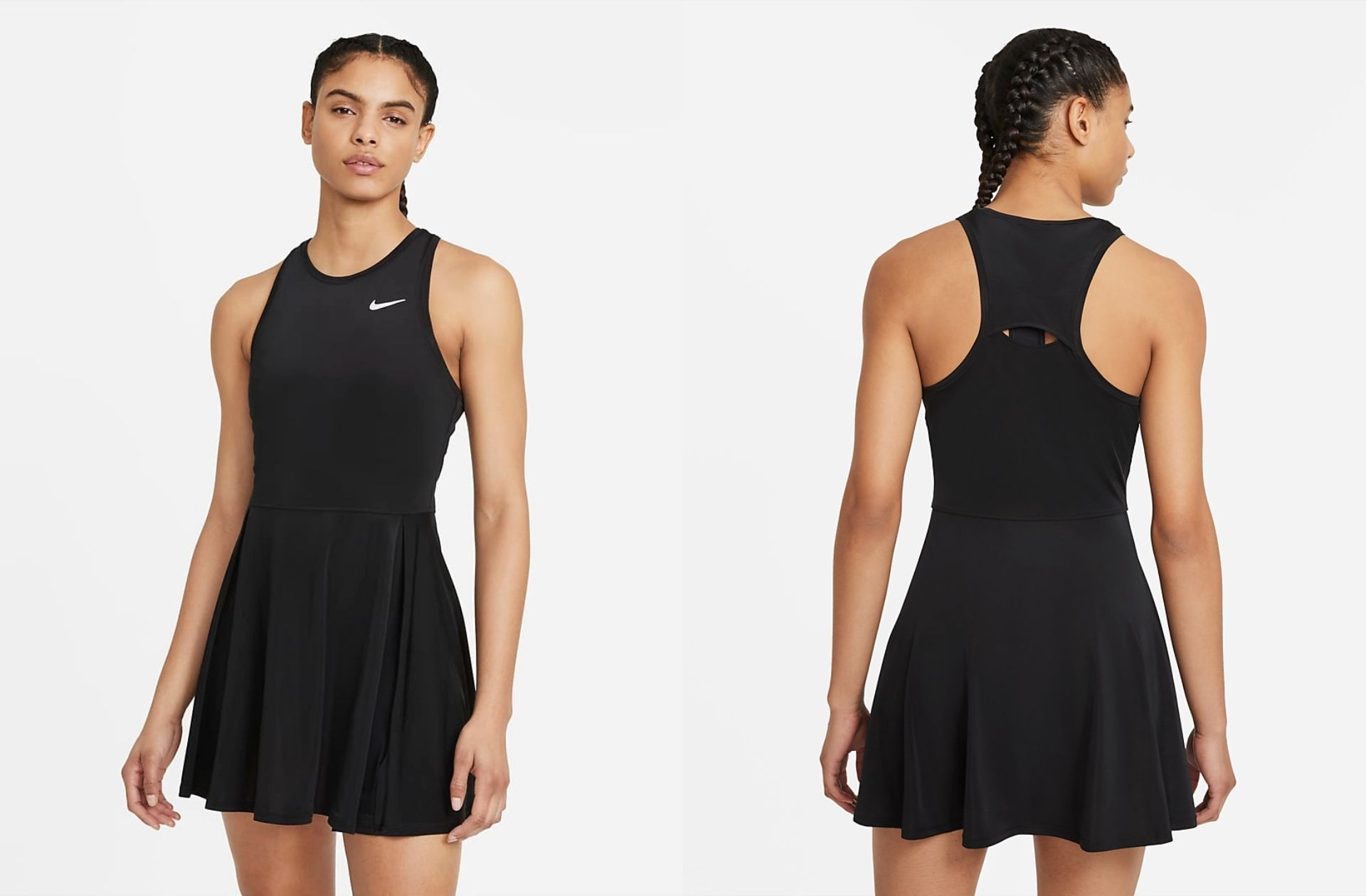 Détournées de leur fonction première, les robes de sport deviennent tendance pour le quotidien