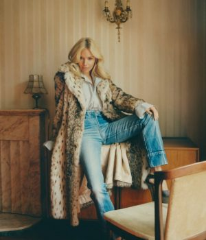 Sienna Miller pose pour Oxfam