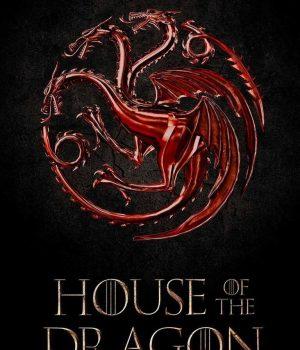 Le logo de la série House of the Dragon.