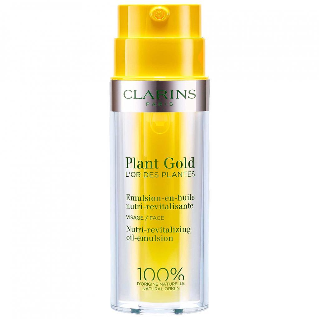 Alerte grisaille ? Redonnez un coup d'éclat à votre teint avec le coffret Plant Gold de Clarins à -25%