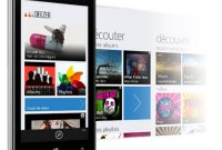 Deezer s'installe sur Windows Phone 8