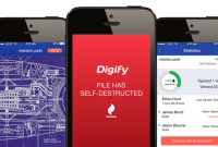 Digify, un Snapchat pour documents confidentiels