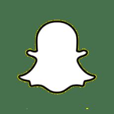logo snapchat blanc