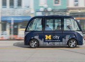 Les bus autonomes français Navya s'exportent à l'université du Michigan