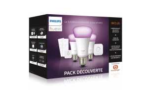 Le Deal du Jour : le kit de démarrage Philips Hue avec 3 ampoules White And Color est à 169 euros